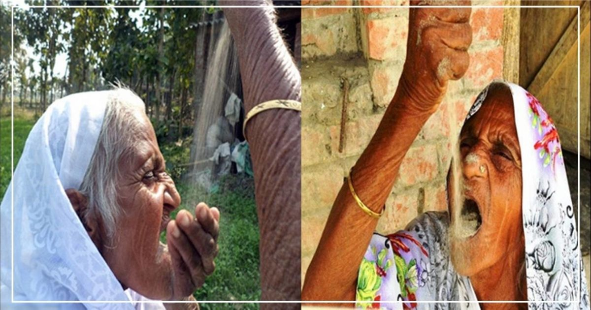 આ 78 વર્ષીય મહિલા રેતી ખાય તો જ સ્વસ્થ રહે છે, તમે જાણીને ચોકી જશો.