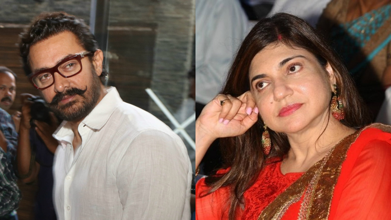 Alka Yagnik once threw Aamir Khan out of her room? - Bollyworm